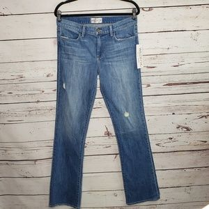 NWT Wildfox 'The Skye' Mid Rise Classic Boot Jeans